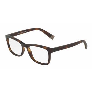 Dolce & Gabbana Mens DG5019 3028 Plastic Rectangle Eyeglasses - Blue
