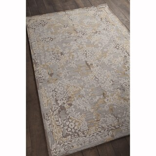 """Artist's Loom Hand-tufted Rustic Floral Pattern Rug (5'x7'6"""")"""