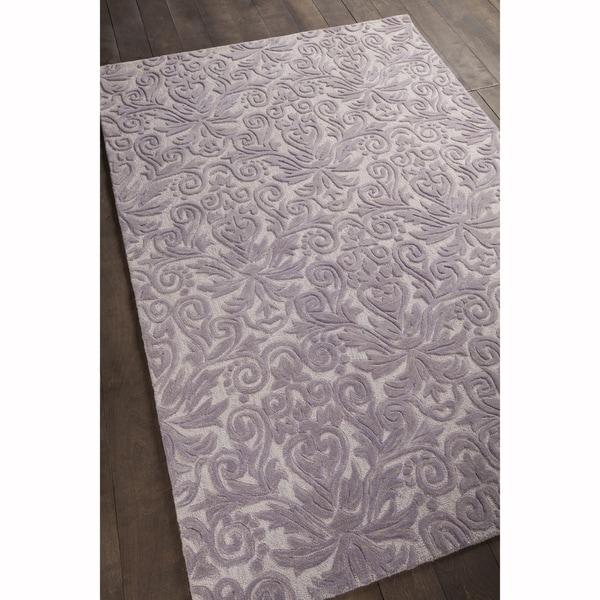 Shop Artist S Loom Hand Tufted Transitional Floral Pattern