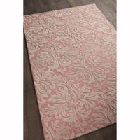 """Artist's Loom Hand-tufted Transitional Floral Pattern Wool Rug (5'x7'6"""")"""