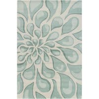 "Artist's Loom Hand-Tufted Contemporary Abstract Pattern Wool Rug (5'x7'6"")"