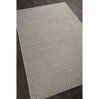 "Artist's Loom Flatweave Casual Geometric Pattern Wool Rug - 5'x7'6"""