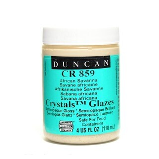 Duncan Crackle and Crystal Glazes African Savanna (Pack of 3)