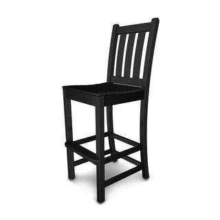 Polywood Traditional Garden Bar Side Chair