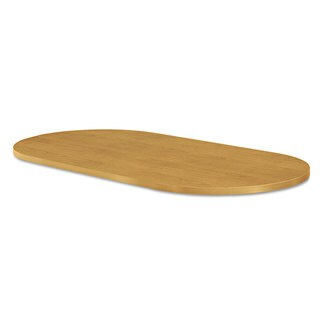 HON Preside Racetrack Conference Table Top, 72 x 36, Harvest