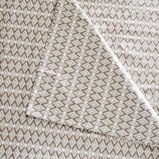 Madison Park Diamond Printed 6 Piece Cotton Sheet Set 4-Color Option