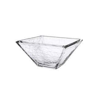 Majestic Gifts Dolomiti Glass 10.25-inch Serving Bowl