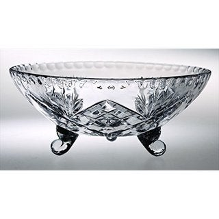 Majestic Gifts Hand-cut Crystal 8-inch D Bowl