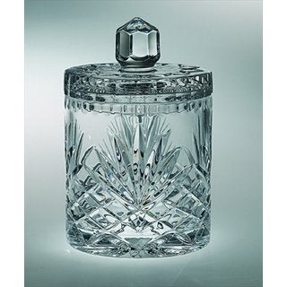 Majestic Gifts Clear Crystal Cookie Jar