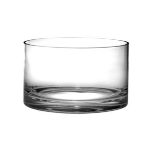 Majestic Gifts Quality Glass Straight Sided Bowl