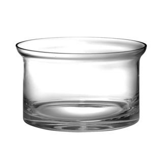 Majestic Gifts Quality Clear Glass 5.5-inch Deep Flair Bowl