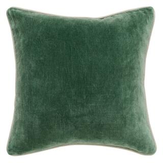 Porch & Den November Velvet Pine 18-inch Throw Pillow