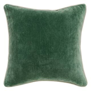 Kosas Home Heirloom Velvet Pine 18-inch Throw Pillow|https://ak1.ostkcdn.com/images/products/13807347/P20456120.jpg?impolicy=medium
