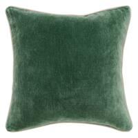 Kosas Home Heirloom Velvet Pine 18-inch Throw Pillow