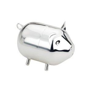 Reed and Barton Lunt Silvertone Metal Piggy Bank