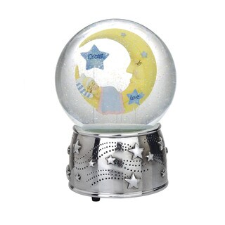 Reed and Barton Sweet Dreams Collection Moon Waterglobe