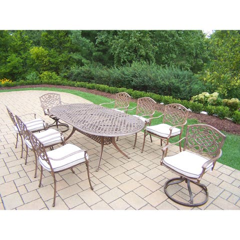 Dakota 9 Piece Outdoor Dining Set with Cushions