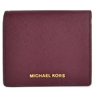 MICHAEL Michael Kors Jet Set Trave Carryall Plum Card Case