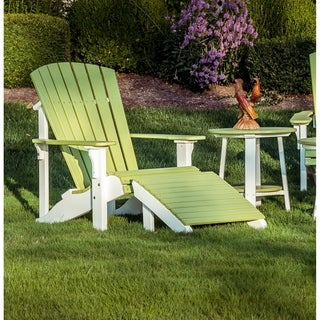 Link to Outdoor Deluxe Adirondack Footrest - Recycled Plastic Similar Items in As Is