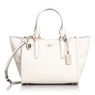 Coach Crosby Leather Chalk Carryall