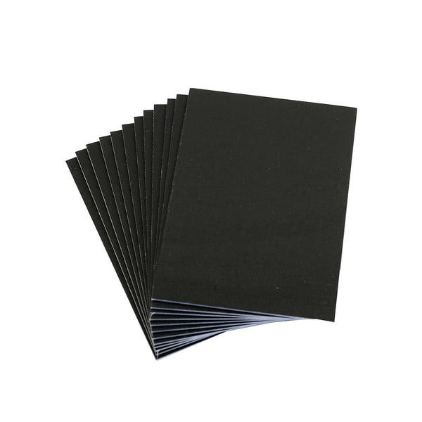 d91e835b175 Shop Value Series Black 5 x 7 Cut Edge Canvas Panels (Pack of 12 ...