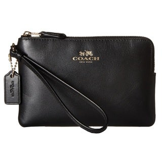 Coach Box Program Black Corner Zip