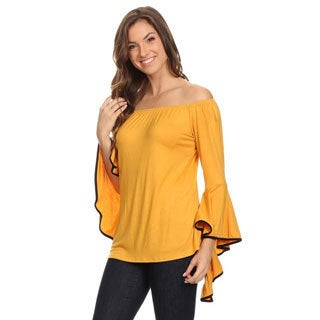Women's Flutter Contrast Sleeve Tunic