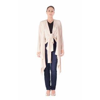 Bluberry Women's Kimono Oatmeal Top|https://ak1.ostkcdn.com/images/products/13808379/P20457030.jpg?impolicy=medium