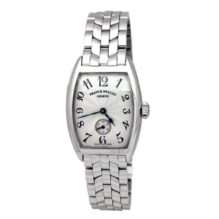 Pre-owned 18k White Gold Franck Muller Geneve Watch