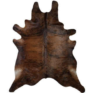 Brown Brindle Cowhide (5' x 7')
