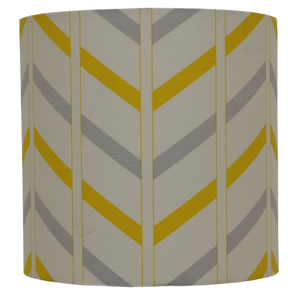 Shop decor therapy grey cottonfabric striped lamp shade free decor therapy grey cottonfabric striped lamp shade aloadofball Gallery