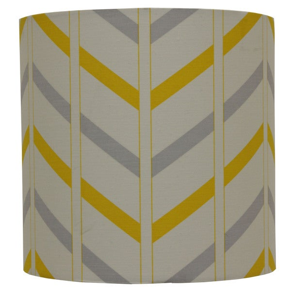 Shop decor therapy grey cottonfabric striped lamp shade free decor therapy grey cottonfabric striped lamp shade aloadofball