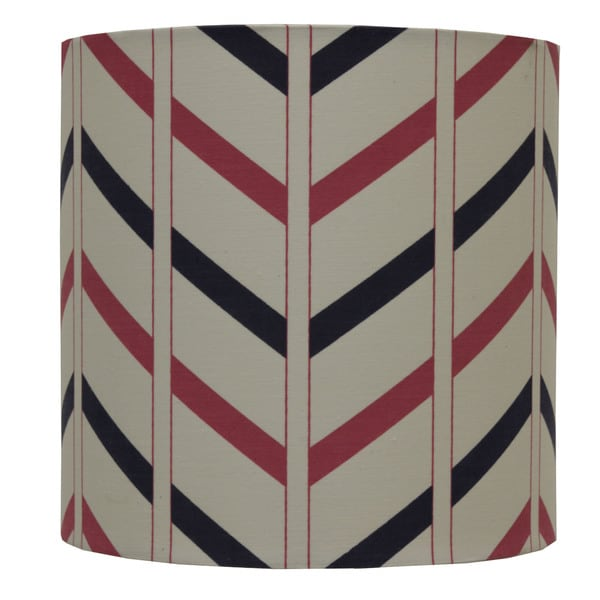 Decor Therapy Cotton Striped Lamp Shade
