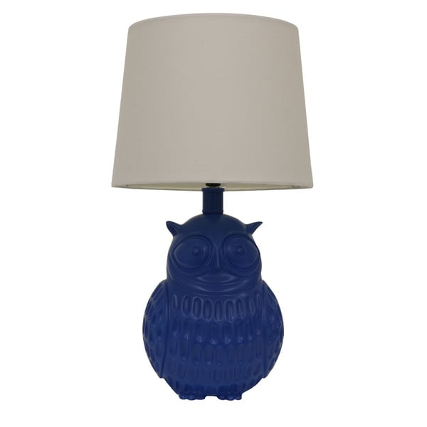 Owl table lamp free shipping today overstock 20462222 owl table lamp mozeypictures Choice Image