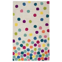 Rizzy Home Play Day Ivory Hand-tufted Rug (3' x 5')
