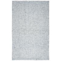 Rizzy Home Brindleton Blue Hand-tufted Wool Rug (5' x 8') - 5' x 8'