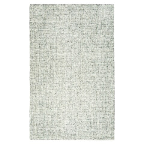 London Green Wool Hand-Tufted Rug (5' x 8') - 5' x 8'