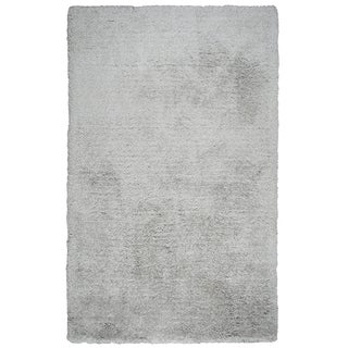 Rizzy Home Commons Silver Hand-Tufted Area Rug (5' x 8')