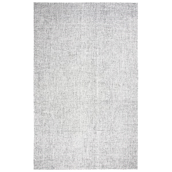 Rizzy Home Brindleton Grey Wool Hand-tufted Rug (5' x 8')