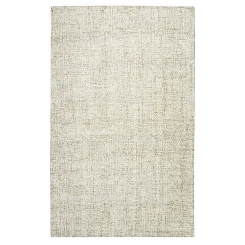 London Beige Wool Hand-tufted Rug (5' x 8') - 5' x 8'