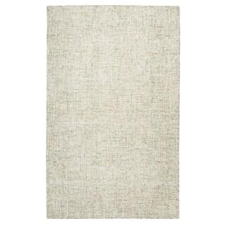 Brindleton Beige Wool Hand-tufted Rug (5' x 8')