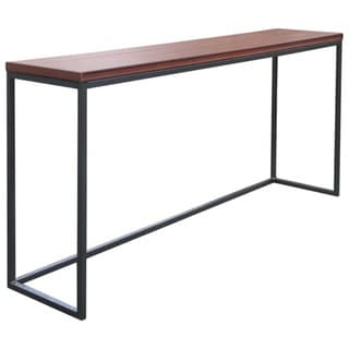 Cal Flame Metro Mahogany Plastic and Metal Spa Bar