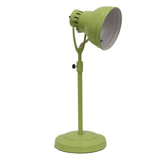 Decor Therapy Green Metal Desk Task Table Lamp