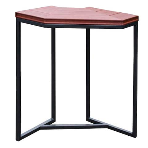 Cal Flame Red/Black Plastic/Metal Corner Spa Bar