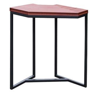 Cal Flame Red/Black Plastic/Metal Corner Spa Bar (Option: Brown)