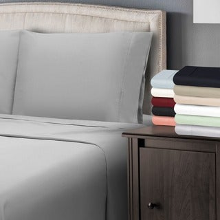 Superior 300 Thread Count Cotton Antimicrobial Pillowcase Set