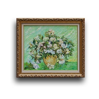 Vincent van Gogh 'Vase with Roses' Replica Artwork