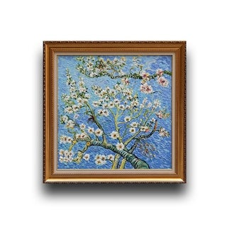 Vincent van Gogh 'Branches of an Almond Tree in Blossom' Art