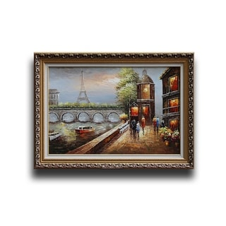 'Paris Eiffel Tower Urban Street' Artwork