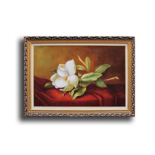 Magnolia Grandiflora Oil Painting